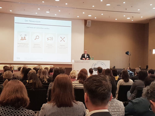 Fragen der digitalen Transformation auf dem Kommunikationskongress in Wien