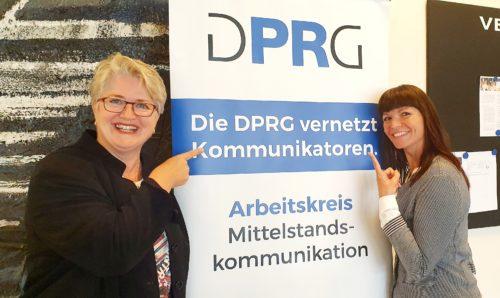 Manuela Seubert und Ninette Pett leiten den Expertenkreis Mittelstandskommunikation