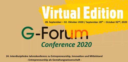 G-Forum 2020
